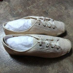 Flora Cotton Mesh Lace Up Sneaker by Splendid
